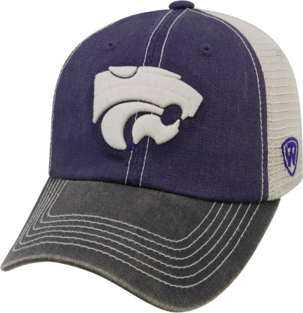 Top of the World Men's Kansas State Wildcats Purple/White/Black Off Road Adjustable Hat product image