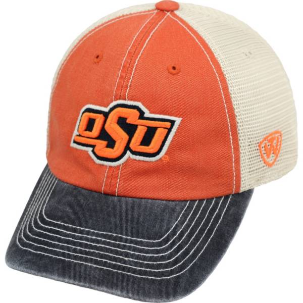 Top of the World Men's Oklahoma State Cowboys Orange/White/Black Off Road Adjustable Hat product image