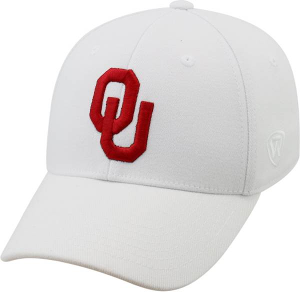 Top of the World Men's Oklahoma Sooners White Premium Collection M-Fit Hat product image