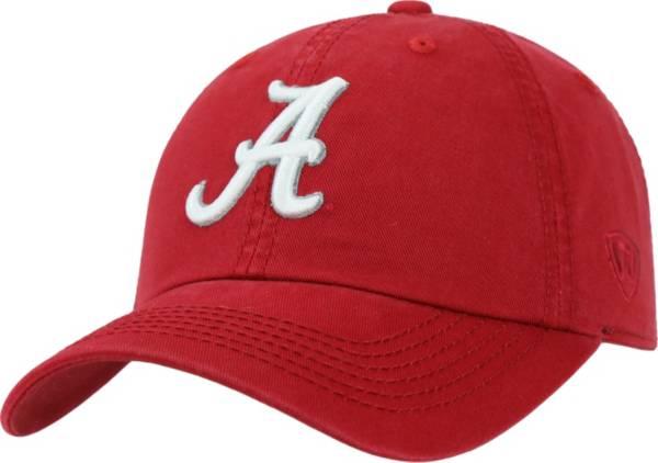 Top of the World Men's Alabama Crimson Tide Crimson Crew Adjustable Hat product image