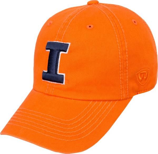 Top of the World Men's Illinois Fighting Illini Orange Crew Adjustable Hat product image