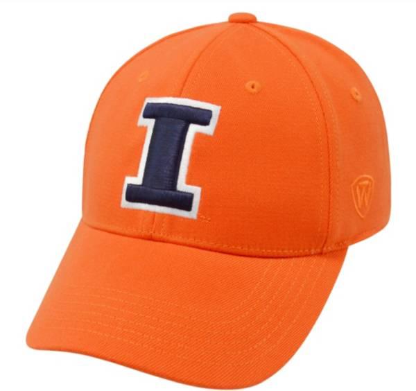 Top of the World Men's Illinois Fighting Illini Orange Premium Collection M-Fit Hat product image