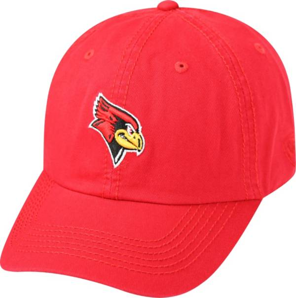 Top of the World Men's Illinois State Redbirds Red Crew Adjustable Hat product image