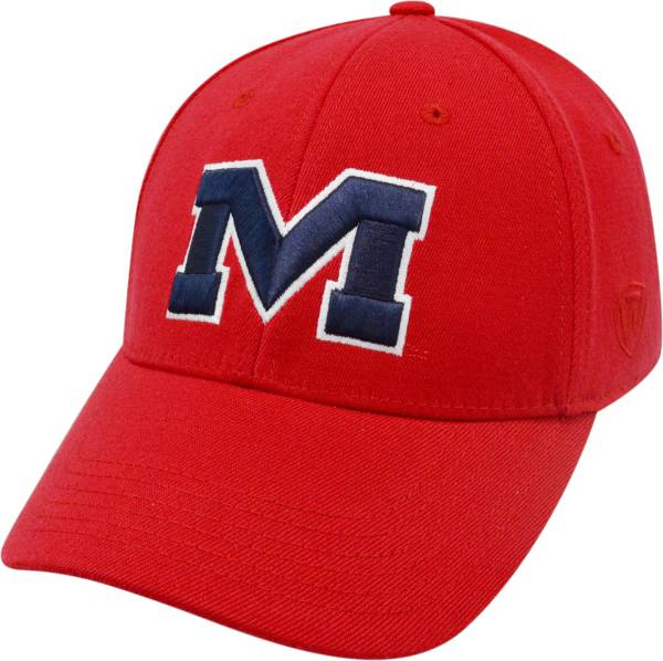 Top of the World Men's Ole Miss Rebels Red Premium Collection M-Fit Hat product image