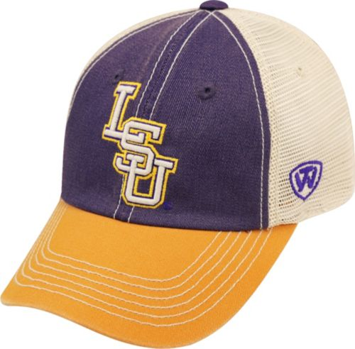 huge discount b7a3c 6516b Top of the World Men s LSU Tigers Purple White Gold Off Road Adjustable Hat.  noImageFound. Previous
