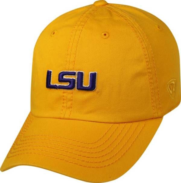 Top of the World Men's LSU Tigers Gold Crew Adjustable Hat product image