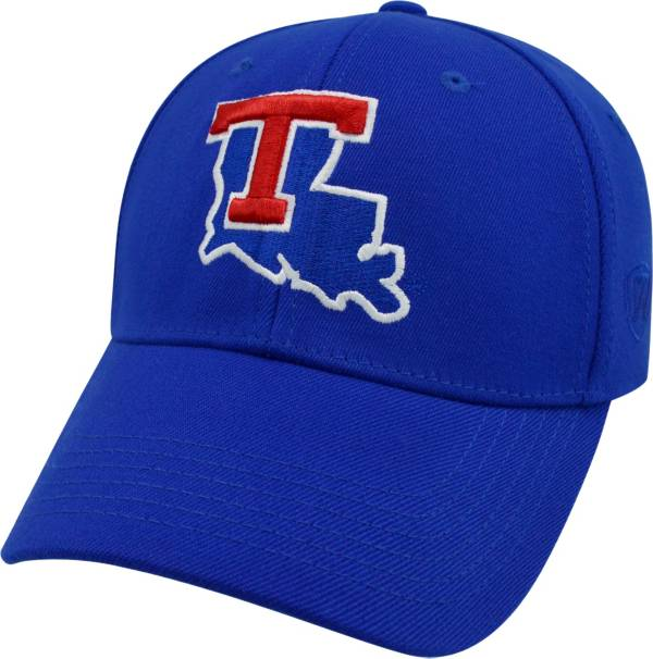 Top of the World Men's Louisiana Tech Bulldogs Blue Premium Collection M-Fit Hat product image