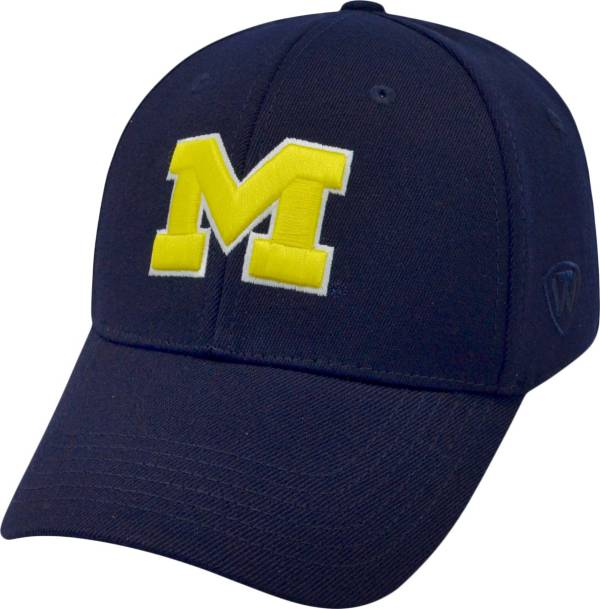 Top of the World Men's Michigan Wolverines Blue Premium Collection M-Fit Hat product image