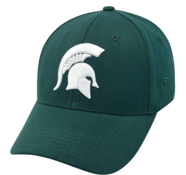 Top of the World Men's Michigan State Spartans Green Premium Collection M-Fit Hat product image