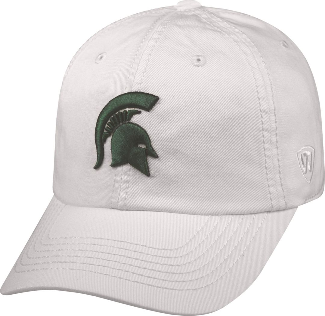 new concept bac22 a36b9 Top of the World Men s Michigan State Spartans White Crew Adjustable Hat.  noImageFound. Previous