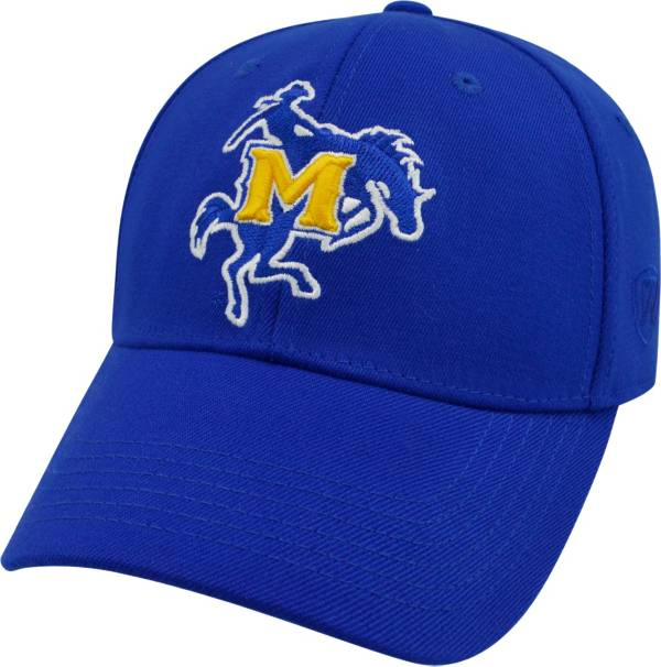 Top of the World Men's McNeese State Cowboys Royal Blue Premium Collection M-Fit Hat product image