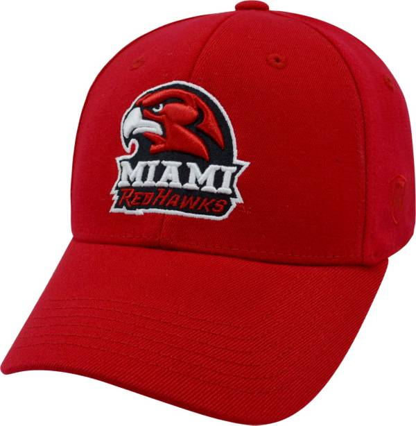 Top of the World Men's Miami RedHawks Red Premium Collection M-Fit Hat product image