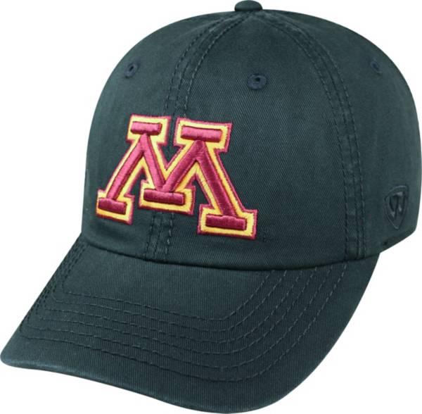 Top of the World Men's Minnesota Golden Gophers Crew Black Adjustable Hat product image