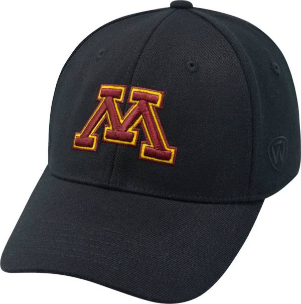 Top of the World Men's Minnesota Golden Gophers Black Premium Collection M-Fit Hat product image