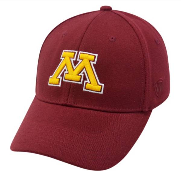 Top of the World Men's Minnesota Golden Gophers Maroon Premium Collection M-Fit Hat product image
