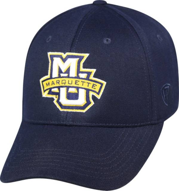 Top of the World Men's Marquette Golden Eagles Blue Premium Collection M-Fit Hat product image