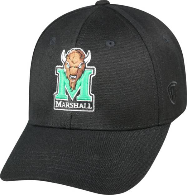 Top of the World Men's Marshall Thundering Herd Black Premium Collection M-Fit Hat product image