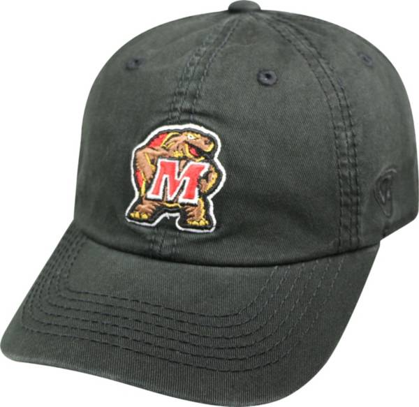 Top of the World Men's Maryland Terrapins Black Crew Adjustable Hat product image