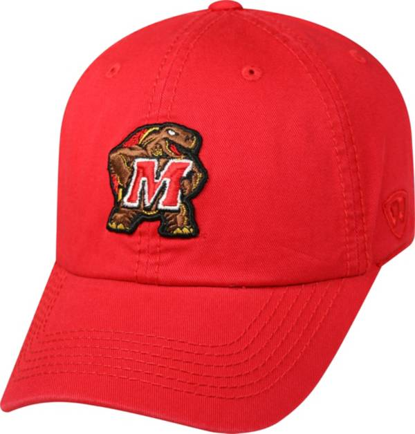 Top of the World Men's Maryland Terrapins Red Crew Adjustable Hat product image
