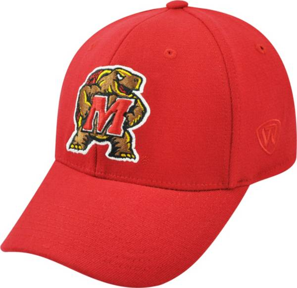 Top of the World Men's Maryland Terrapins Red Premium Collection M-Fit Hat product image
