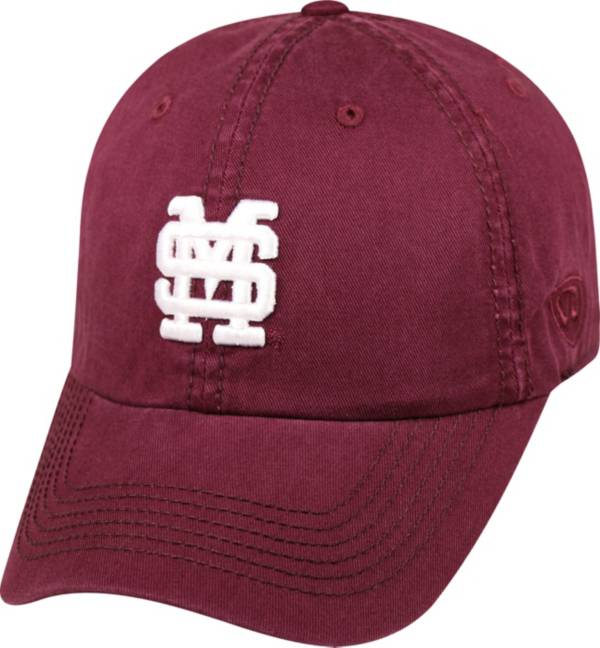 Top of the World Men's Mississippi State Bulldogs Maroon Crew Adjustable Hat product image