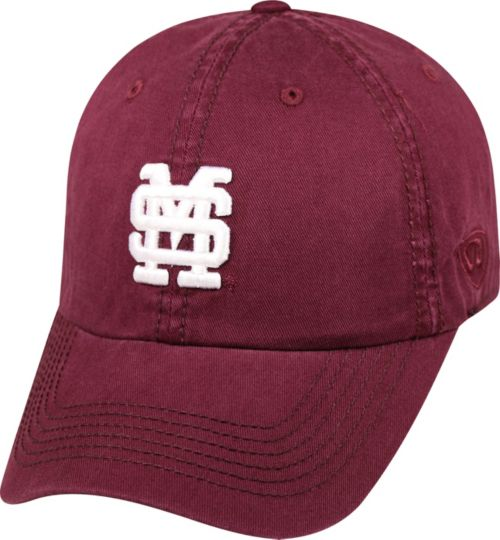 52f2953334e Top of the World Men s Mississippi State Bulldogs Maroon Crew Adjustable Hat.  noImageFound. Previous