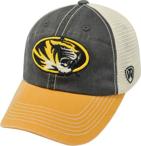 Top of the World Men's Missouri Tigers Black/White/Gold Off Road Adjustable Hat product image