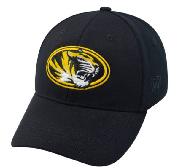 Top of the World Men's Missouri Tigers Black Premium Collection M-Fit Hat product image