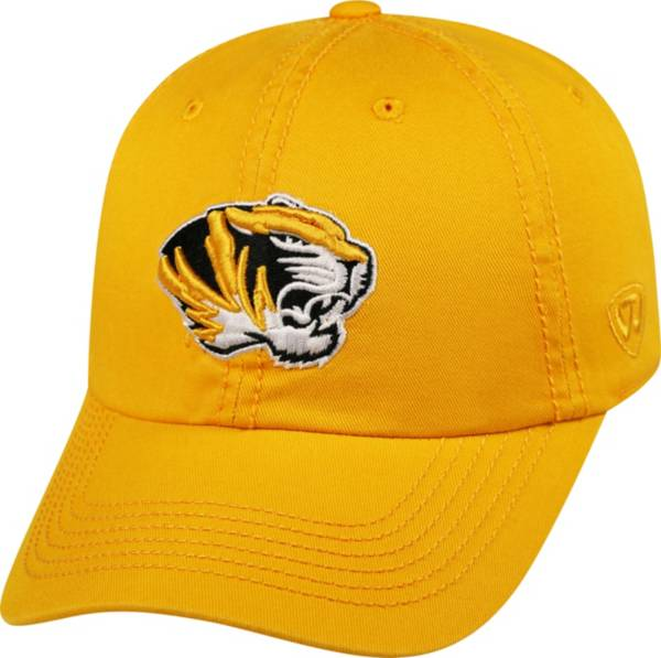 Top of the World Men's Missouri Tigers Gold Crew Adjustable Hat product image