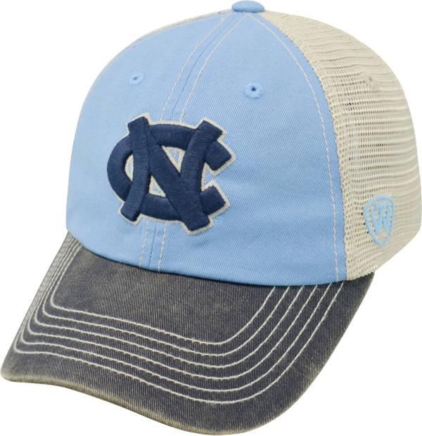 Top of the World Men's North Carolina Tar Heels Carolina Blue/White/Navy Off Road Adjustable Hat product image