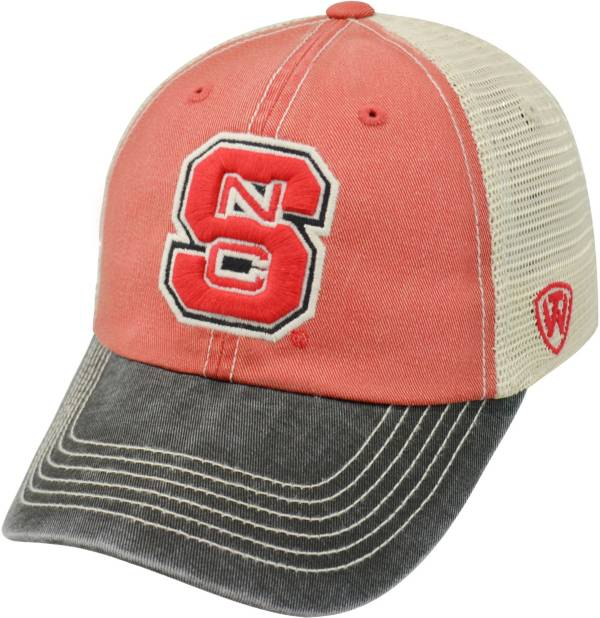 Top of the World Men's NC State Wolfpack Red/White/Black Off Road Adjustable Hat product image