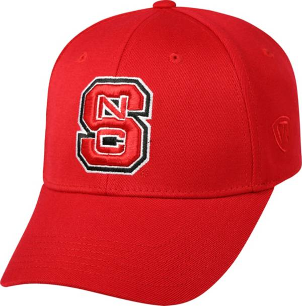 Top of the World Men's NC State Wolfpack Red Crew Adjustable Hat product image