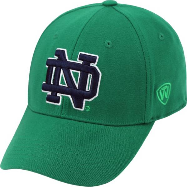 Top of the World Men's Notre Dame Fighting Irish Green Premium Collection M-Fit Hat product image