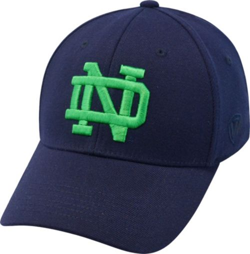 Top of the World Men s Notre Dame Fighting Irish Blue Premium Collection M-Fit  Hat. noImageFound. Previous baa17e8d10ac