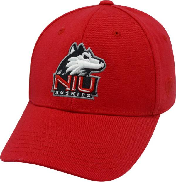 Top of the World Men's Northern Illinois Huskies Cardinal Premium Collection M-Fit Hat product image