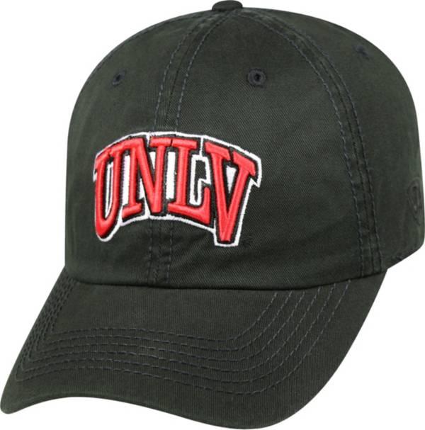 Top of the World Men's UNLV Rebels Black Crew Adjustable Hat product image