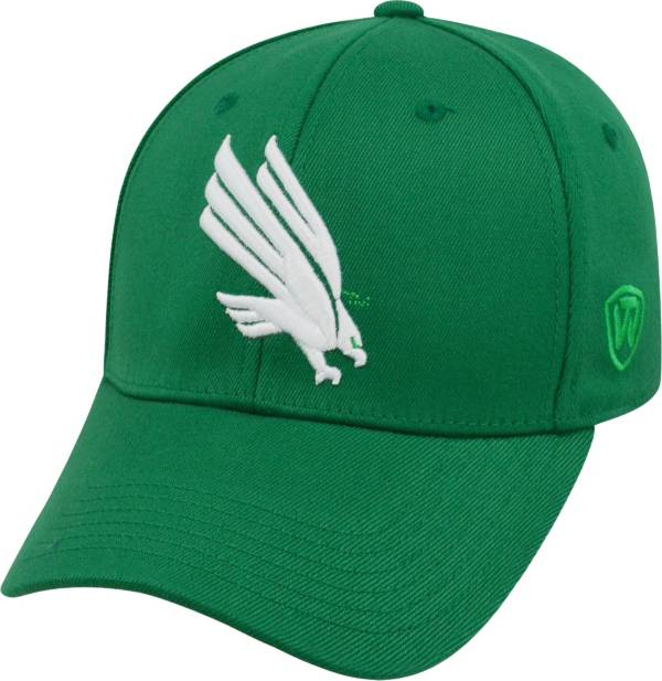 Top of the World Men's North Texas Mean Green Premium Collection Green M-Fit Hat product image