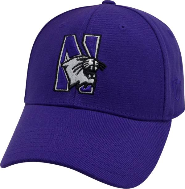 Top of the World Men's Northwestern Wildcats Purple Premium Collection M-Fit Hat product image