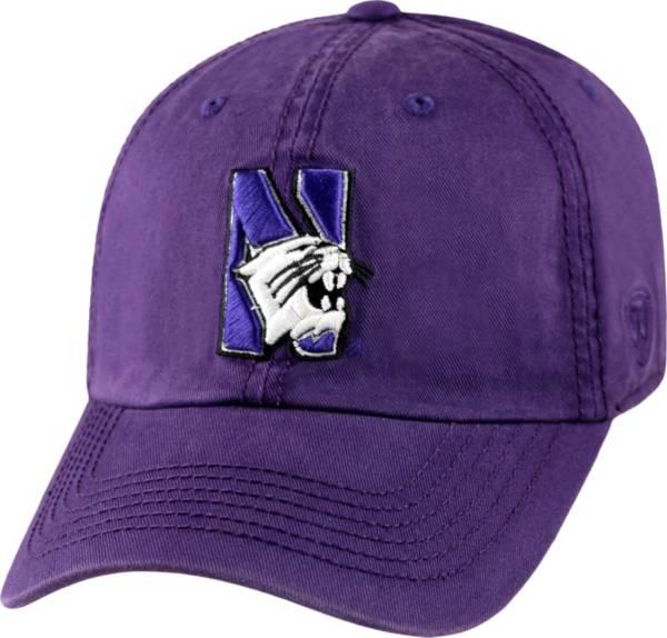 Top of the World Men's Northwestern Wildcats Purple Crew Adjustable Hat product image