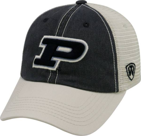 Top of the World Men's Purdue Boilermakers Black/White/Old Gold Off Road Adjustable Hat product image