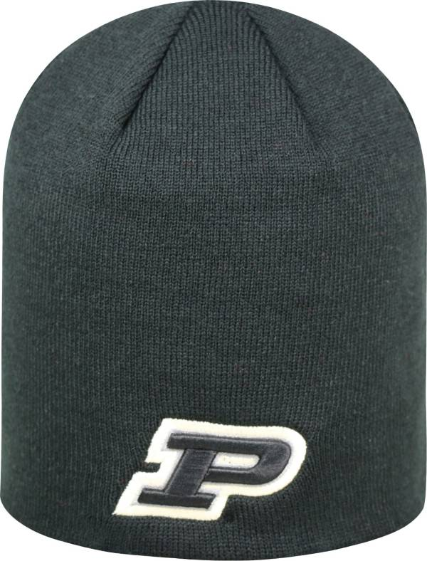 Top of the World Men's Purdue Boilermakers Black TOW Classic Knit Beanie product image