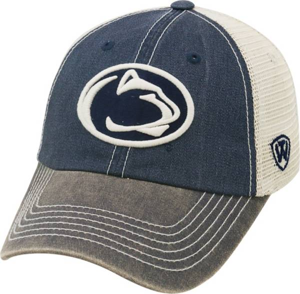Top of the World Men's Penn State Nittany Lions Blue/White Off Road Adjustable Hat product image