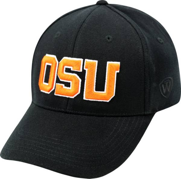 Top of the World Men's Oregon State Beavers Black Premium Collection M-Fit Hat product image