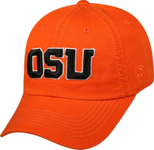 Top of the World Men's Oregon State Beavers Orange Crew Adjustable Hat product image