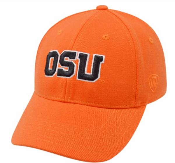 Top of the World Men's Oregon State Beavers Orange Premium Collection M-Fit Hat product image