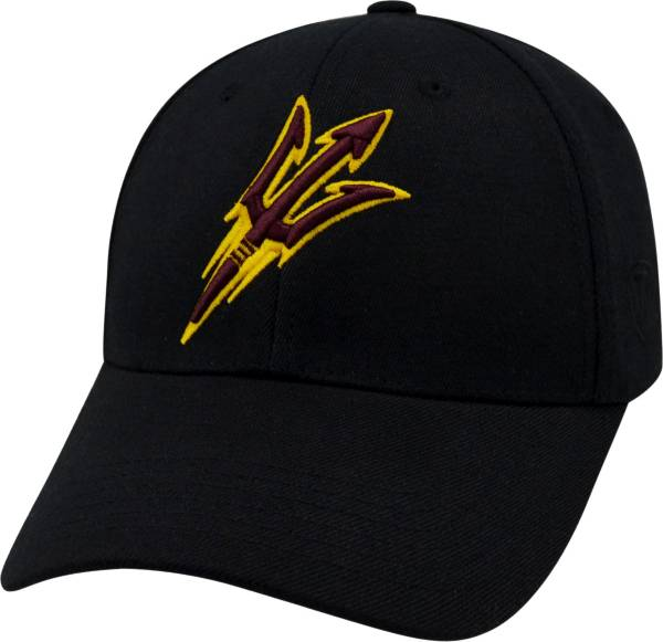 Top of the World Men's Arizona State Sun Devils Black Premium Collection M-Fit Hat product image