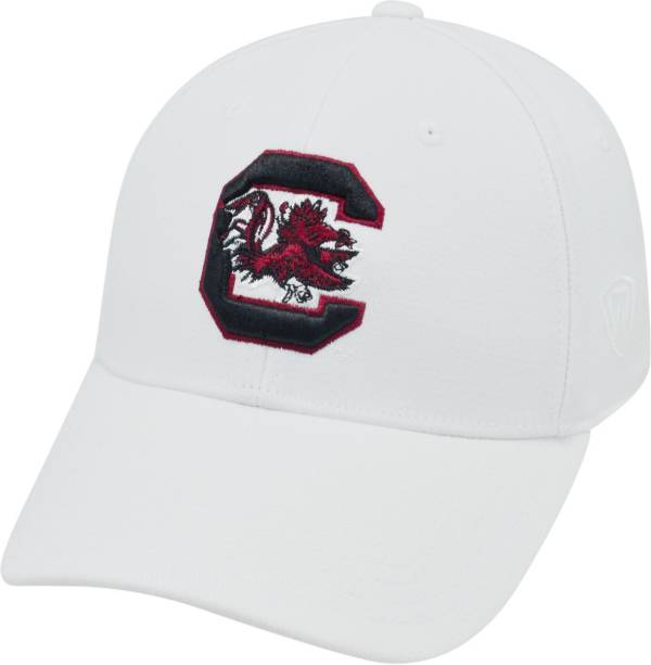 Top of the World Men's South Carolina Gamecocks White Premium Collection M-Fit Hat product image