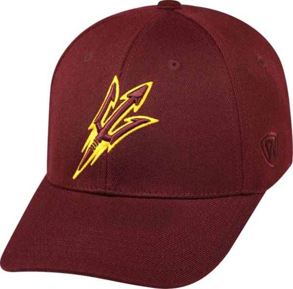 Top of the World Men's Arizona State Sun Devils Maroon Premium Collection M-Fit Hat product image