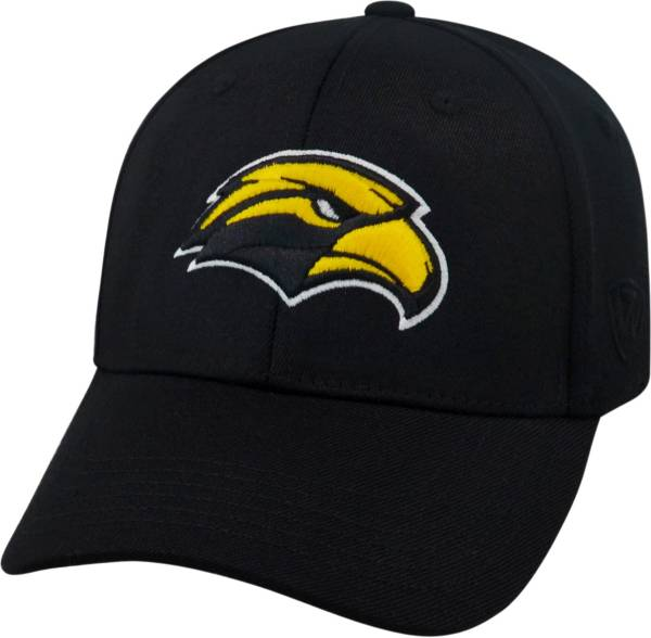 Top of the World Men's Southern Miss Golden Eagles Black Premium Collection M-Fit Hat product image