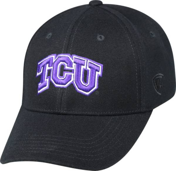 Top of the World Men's TCU Horned Frogs Black Premium Collection M-Fit Hat product image
